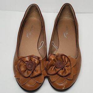 Shoes - Madeline Stuart Flower Flats
